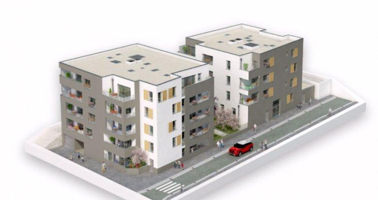 Achat / Vente immobilier neuf Vénissieux proche parc Louis (69200) - Réf. 1549