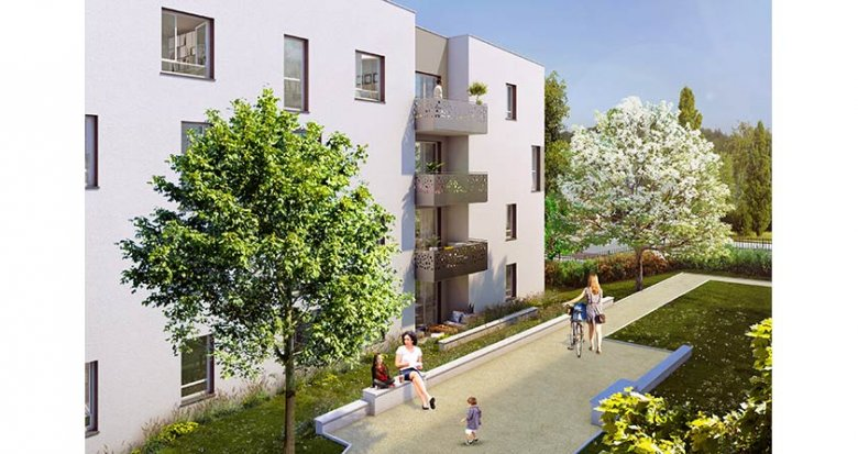 Achat / Vente immobilier neuf Vénissieux proche Tramway T4 (69200) - Réf. 1841