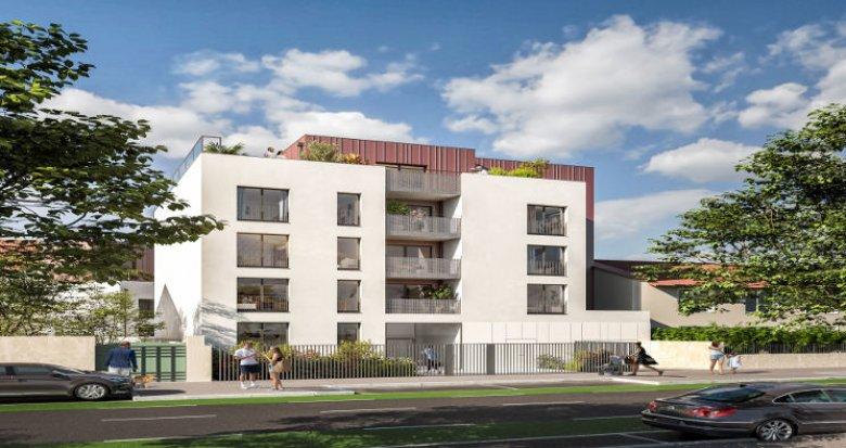 Achat / Vente immobilier neuf Vénissieux proche tramway T6 (69200) - Réf. 5981