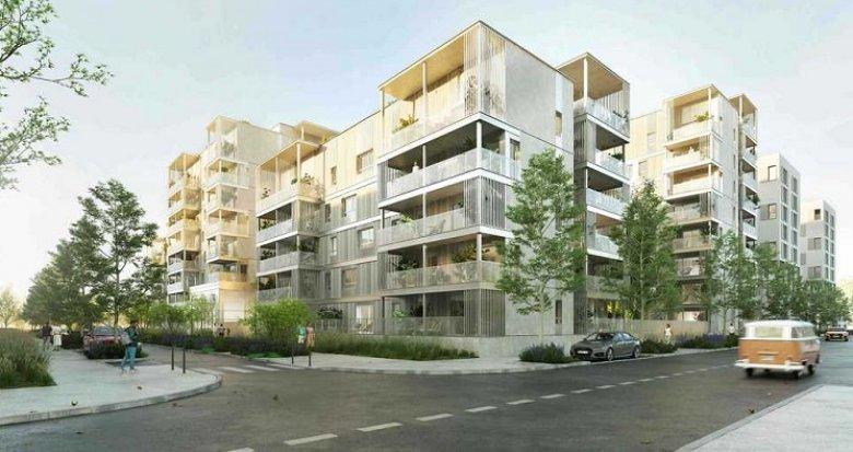 Achat / Vente immobilier neuf Vénissieux quartier Grand Parilly (69200) - Réf. 5891
