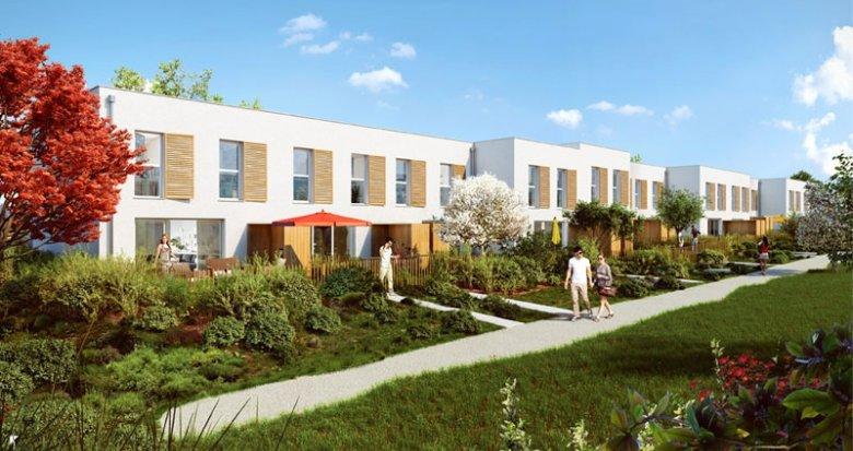 Achat / Vente immobilier neuf Vénissieux quartier Monery (69200) - Réf. 1377