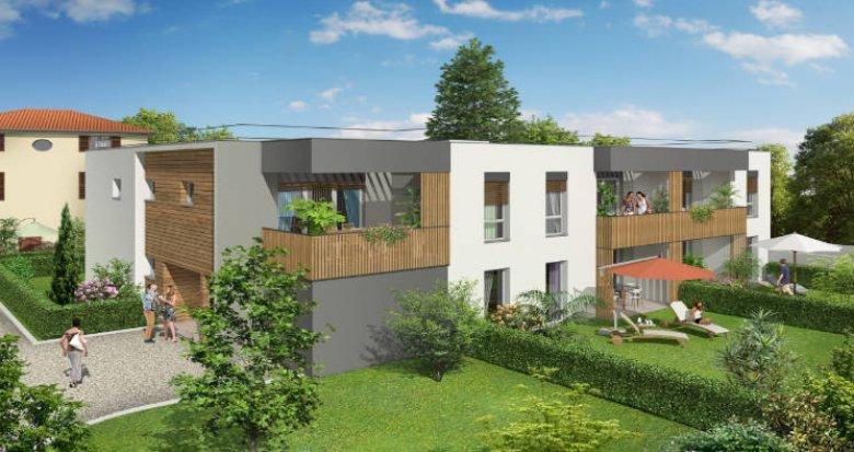 Achat / Vente immobilier neuf Vernaison - quartier calme et résidentiel (69390) - Réf. 4334