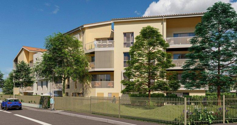 Achat / Vente immobilier neuf Villefranche-sur-Saône à 15min à pied de la gare (69400) - Réf. 6172