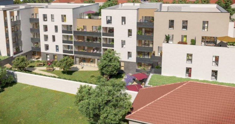 Achat / Vente immobilier neuf Villefranche-sur-Saône Résidence seniors (69400) - Réf. 5685