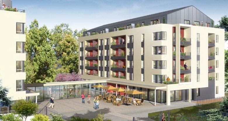 Achat / Vente immobilier neuf Villefranche sur Saône résidence séniors (69400) - Réf. 1145