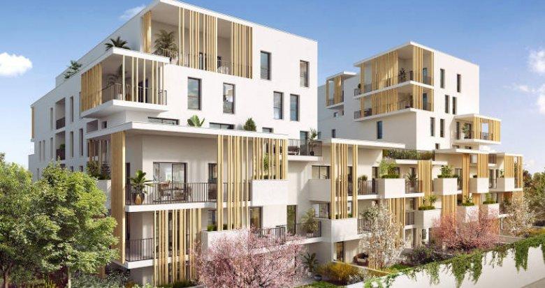 Achat / Vente immobilier neuf Villeurbanne à 500 mètres du métro (69100) - Réf. 4759