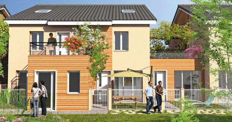 Achat / Vente immobilier neuf Villeurbanne à deux pas du Campus de La Doua (69100) - Réf. 1066