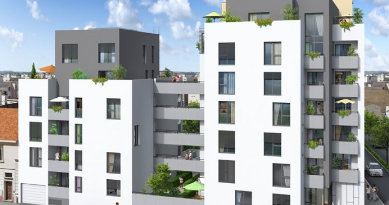 Achat / Vente immobilier neuf Villeurbanne, arrêt de Tramway Condorcet (69100) - Réf. 350
