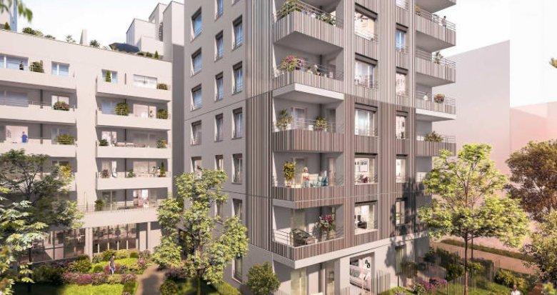 Achat / Vente immobilier neuf Villeurbanne au cœur du quartier Carré de Soie (69100) - Réf. 4315