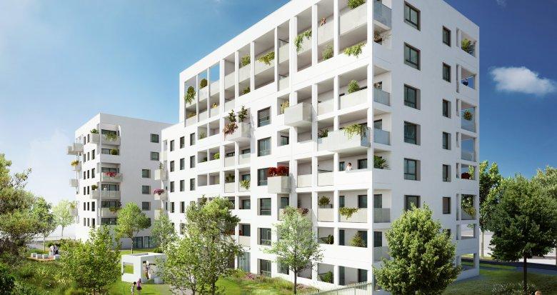 Achat / Vente immobilier neuf Villeurbanne Carré de Soie (69100) - Réf. 2452