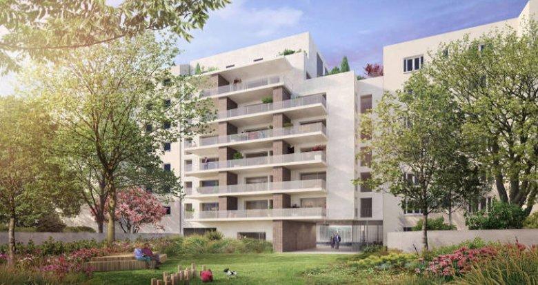 Achat / Vente immobilier neuf Villeurbanne cœur quartier de Ferrandière (69100) - Réf. 4512