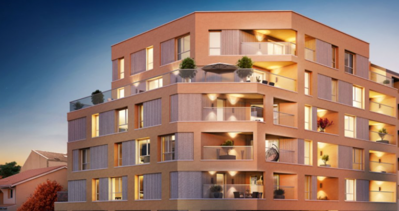 Achat / Vente immobilier neuf Villeurbanne Croix Luzet (69100) - Réf. 5313