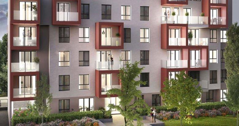 Achat / Vente immobilier neuf Villeurbanne Est proche Carré de Soie (69100) - Réf. 5503
