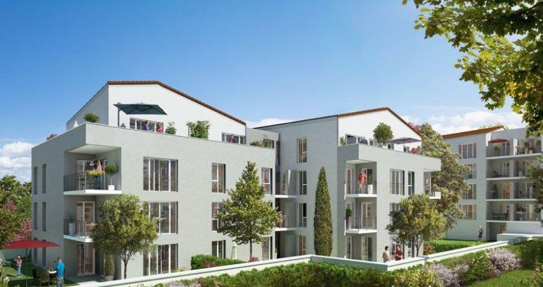 Achat / Vente immobilier neuf Villeurbanne lisière Montchat (69100) - Réf. 1373