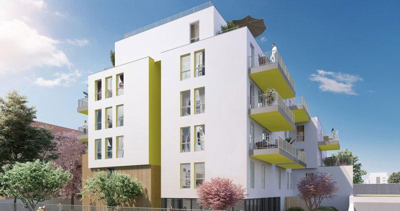 Achat / Vente immobilier neuf Villeurbanne proche arrêt Flachet (69100) - Réf. 2236