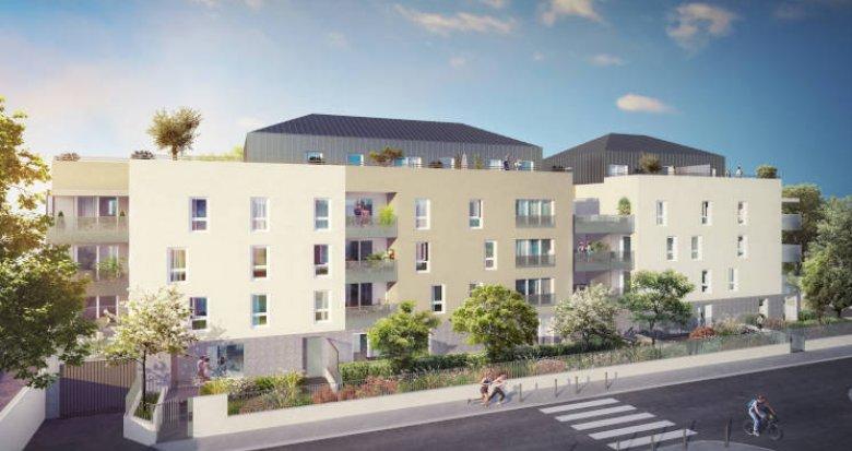 Achat / Vente immobilier neuf Villeurbanne proche campus de la Doua (69100) - Réf. 3509