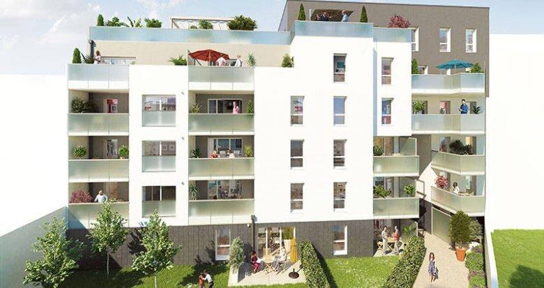 Achat / Vente immobilier neuf Villeurbanne proche Campus de La Doua (69100) - Réf. 2551