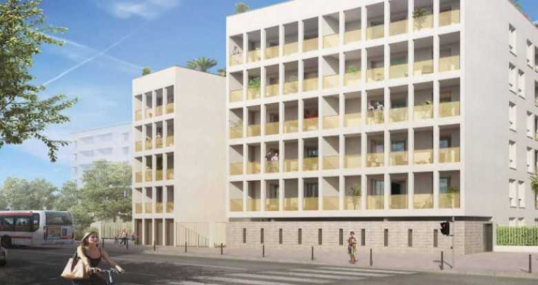 Achat / Vente immobilier neuf Villeurbanne proche centre hospitalier Médipôle (69100) - Réf. 3902