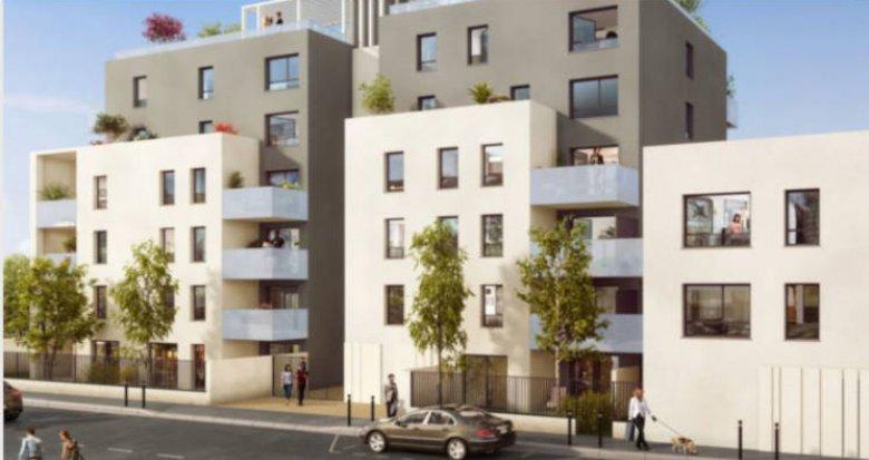 Achat / Vente immobilier neuf Villeurbanne proche Cours Emile Zola (69100) - Réf. 2786