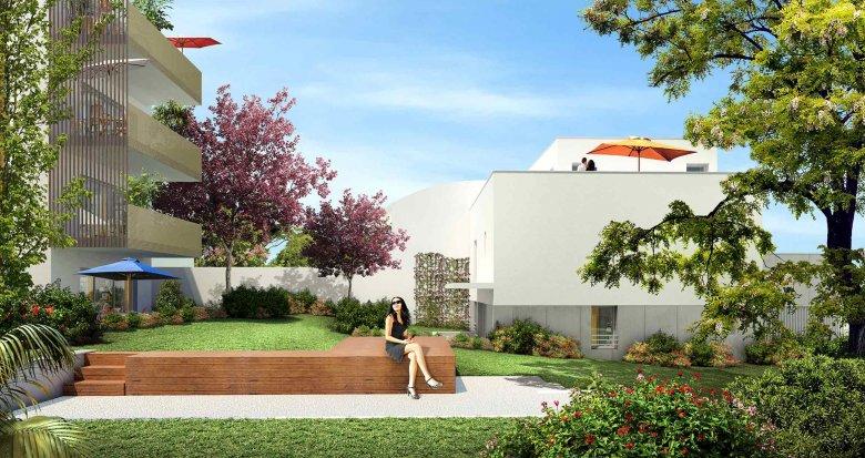 Achat / Vente immobilier neuf Villeurbanne proche cours Emile Zola (69100) - Réf. 1472