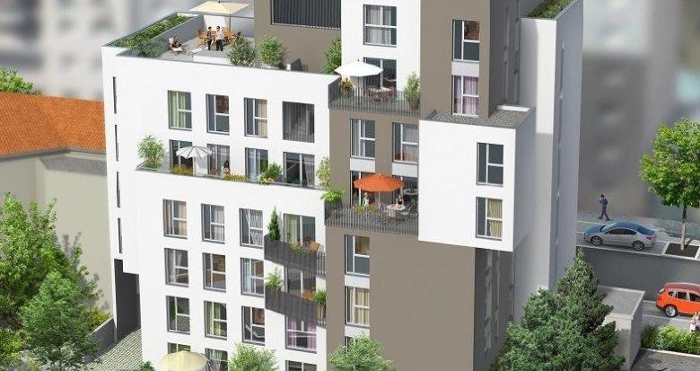 Achat / Vente immobilier neuf Villeurbanne proche de Lyon Part Dieu (69100) - Réf. 1322