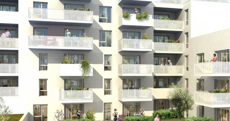 Achat / Vente immobilier neuf Villeurbanne proche de Montchat (69100) - Réf. 1804