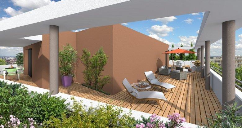 Achat / Vente immobilier neuf Villeurbanne proche des transport en commun (69100) - Réf. 1148