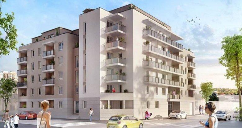 Achat / Vente immobilier neuf Villeurbanne proche des transports (69100) - Réf. 710