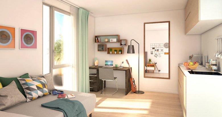 Achat / Vente immobilier neuf Villeurbanne proche du Campus de la Doua (69100) - Réf. 2060
