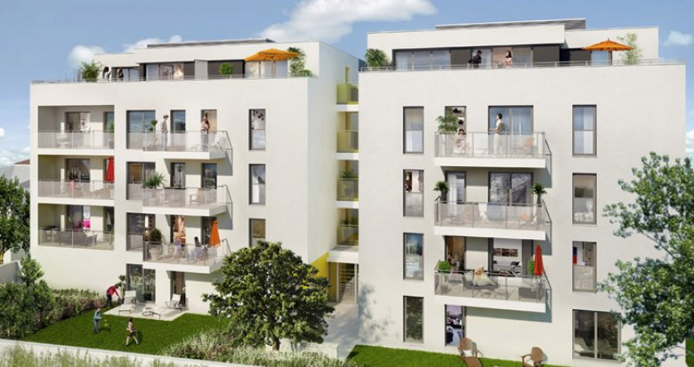 Achat / Vente immobilier neuf Villeurbanne proche future ZAC nord (69100) - Réf. 143