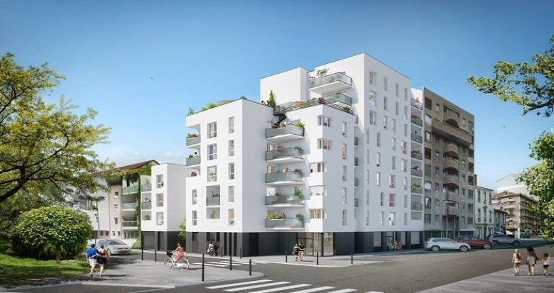 Achat / Vente immobilier neuf Villeurbanne proche Gratte-Ciel et Parc des Droits de l'Homme (69100) - Réf. 786