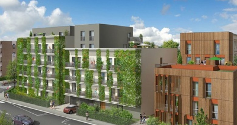 Achat / Vente immobilier neuf Villeurbanne proche Gratte-ciel et parc Feyssine (69100) - Réf. 2373