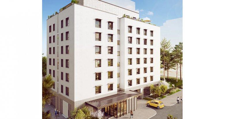 Achat / Vente immobilier neuf Villeurbanne proche Mairie (69100) - Réf. 2138
