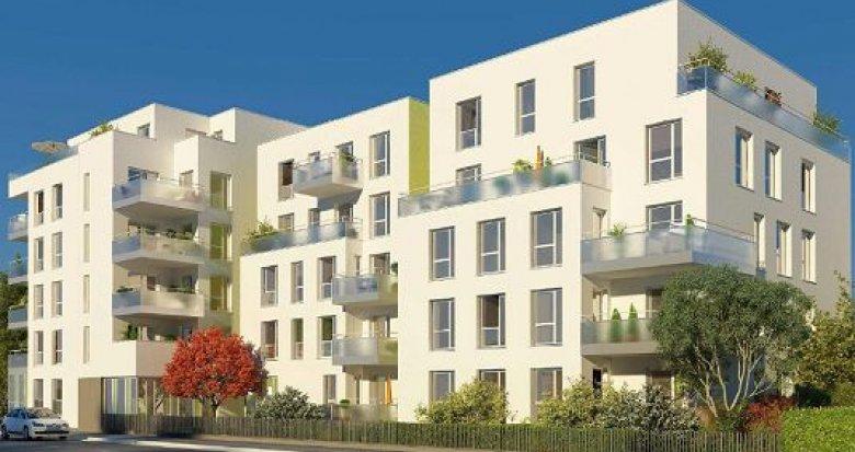 Achat / Vente immobilier neuf Villeurbanne proche métro A et B (69100) - Réf. 1004