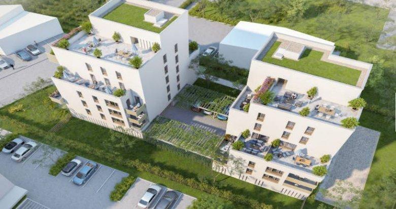 Achat / Vente immobilier neuf Villeurbanne proche métro et bus (69100) - Réf. 4373