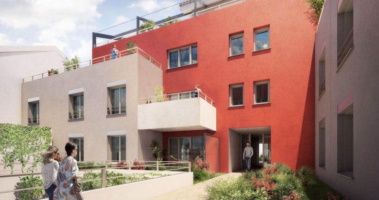Achat / Vente immobilier neuf Villeurbanne proche parc Tête d'Or (69100) - Réf. 1973