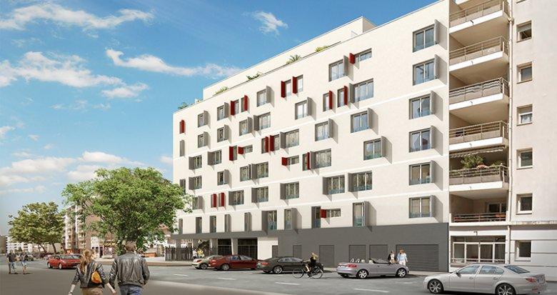 Achat / Vente immobilier neuf Villeurbanne proche pôles universitaires (69100) - Réf. 1477