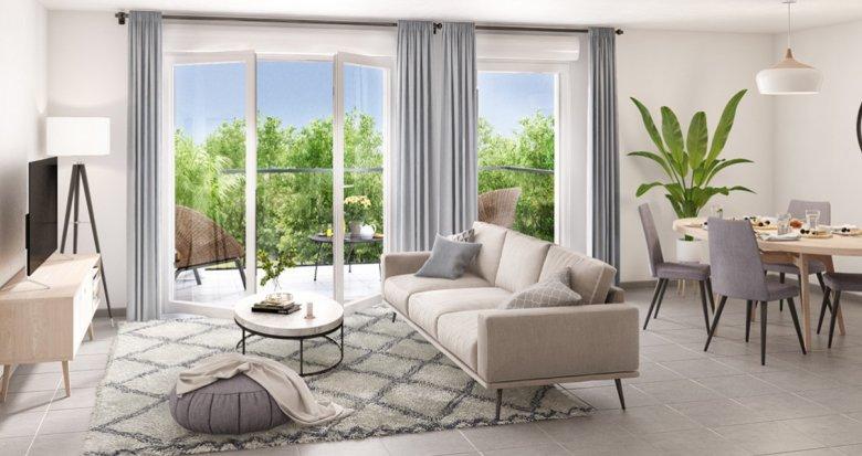 Achat / Vente immobilier neuf Villeurbanne proche quartier Gratte-Ciel (69100) - Réf. 2268