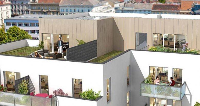 Achat / Vente immobilier neuf Villeurbanne proche quartier Montchat (69100) - Réf. 701
