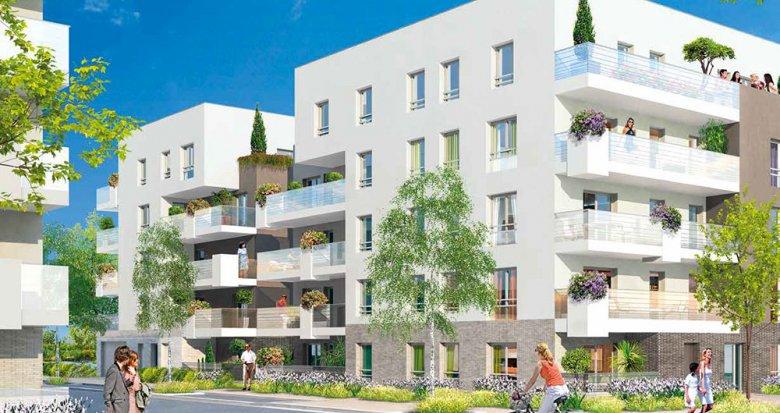Achat / Vente immobilier neuf Villeurbanne proche Tête d'Or (69100) - Réf. 116