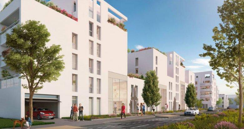 Achat / Vente immobilier neuf Villeurbanne proche tramway T4 et bus (69100) - Réf. 5079