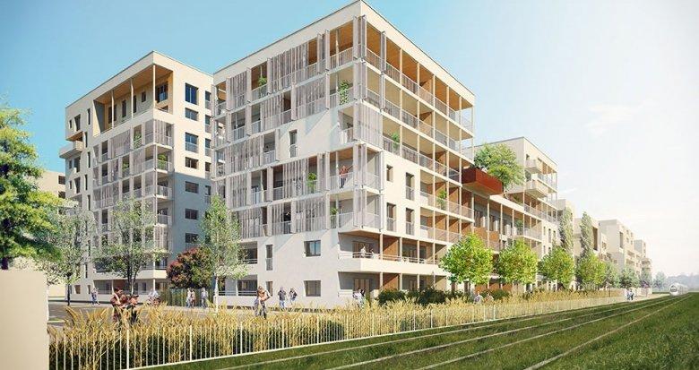 Achat / Vente immobilier neuf Villeurbanne quartier de la Soie (69100) - Réf. 654