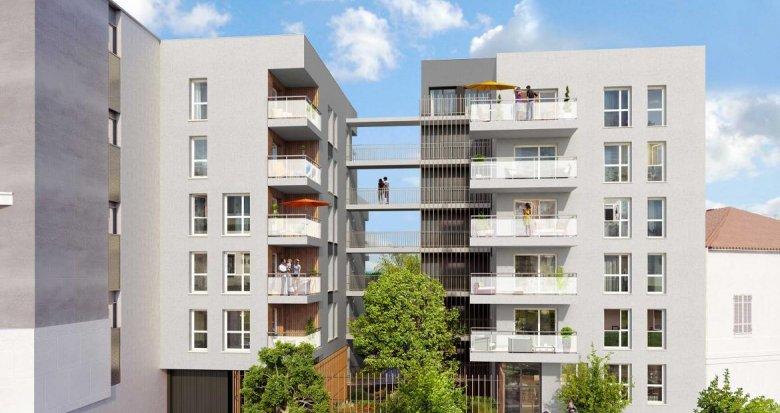 Achat / Vente immobilier neuf Villeurbanne quartier des Charmettes (69100) - Réf. 711