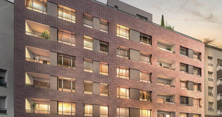 Achat / Vente immobilier neuf Villeurbanne quartier des Gratte-ciel (69100) - Réf. 637