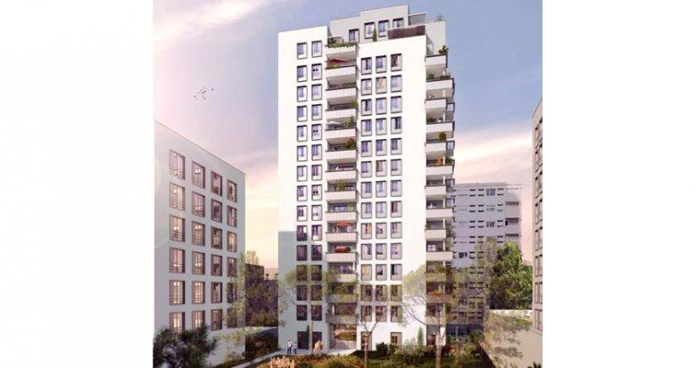 Achat / Vente immobilier neuf Villeurbanne quartier Gratte-Ciel (69100) - Réf. 719
