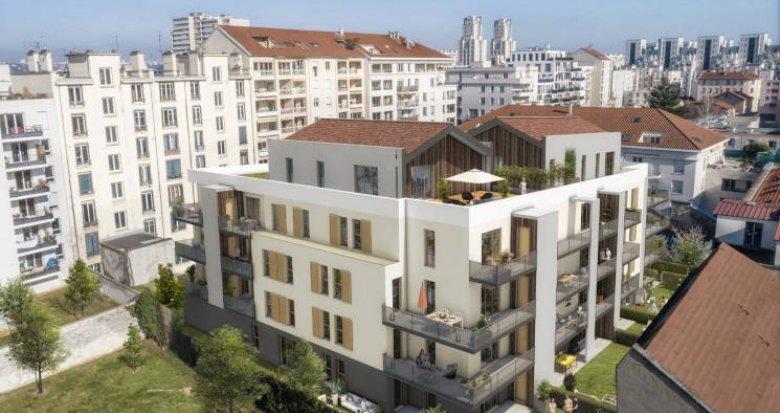 Achat / Vente immobilier neuf Villeurbanne quartier Gratte Ciel (69100) - Réf. 3268