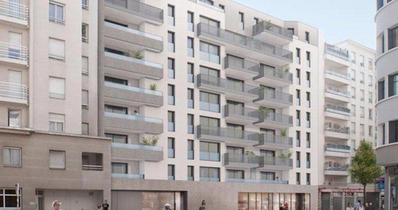 Achat / Vente immobilier neuf Villeurbanne quartier Gratte-Ciel (69100) - Réf. 1297