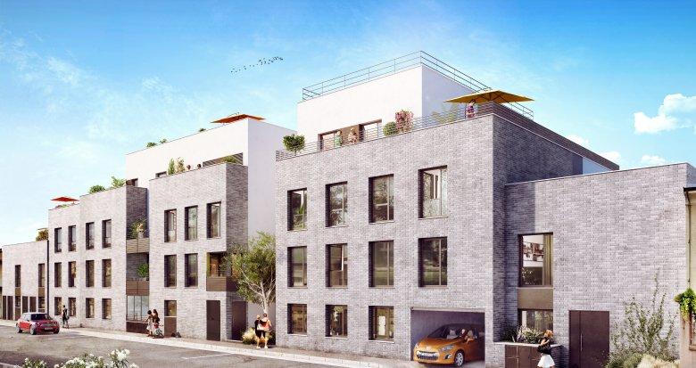 Achat / Vente immobilier neuf Villeurbanne quartier République (69100) - Réf. 349