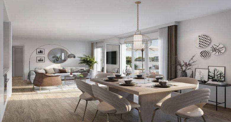 Achat / Vente immobilier neuf Villeurbanne résidence intimiste quartier Charpennes (69100) - Réf. 5505