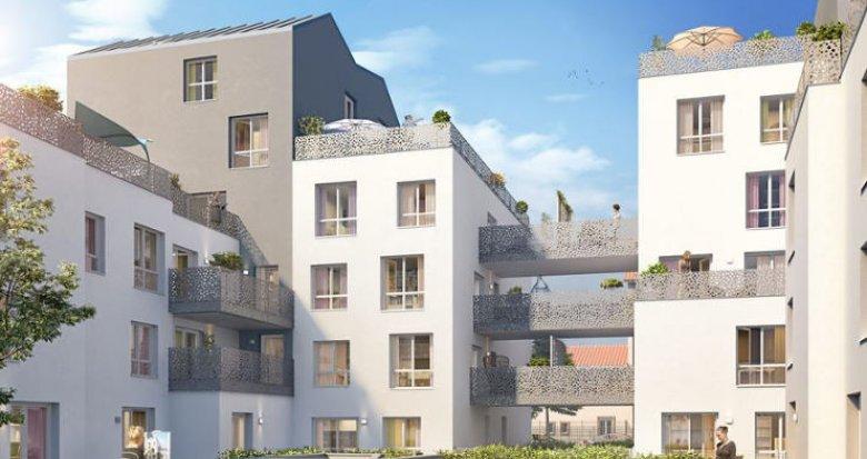 Achat / Vente immobilier neuf Villeurbanne secteur des Gratte-Ciel (69100) - Réf. 2351